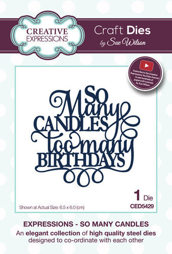 Sue Wilson Dies - So Many Candles