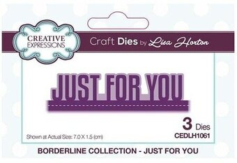 Just For You Borderline - Craft Die