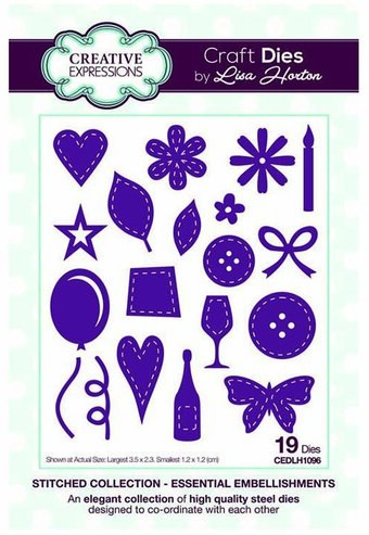 Essential Embellishments - Creative Expressions Craft Die