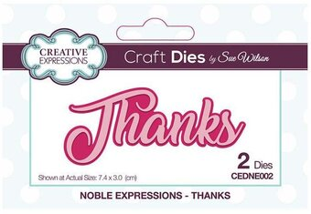 Thanks - Craft Die