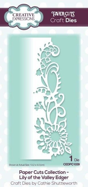 Creative Expressions Dies - Lily of the Valley Edger