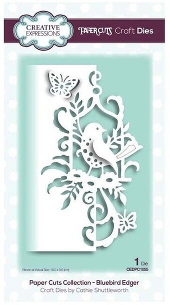 Creative Expressions Craft Die - Bluebird Edger