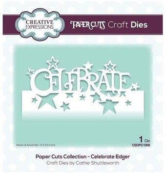 Celebrate Edger - Craft Die