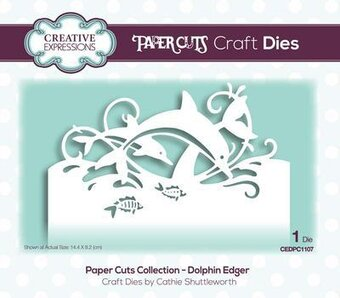 Dolphin Edger - Paper Cuts Die