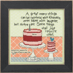 Cake Required - Beaded Cross Stitch Kit