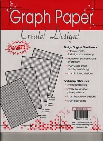 Crafters Helper Needlework Graph Paper   X   StitchCom