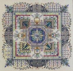 Convent's Herbal Garden, The - Cross Stitch Pattern