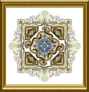 Autumn Knotgarden, The - Cross Stitch Pattern