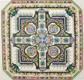 Mini Mandala Mystery 02 - Cross Stitch Pattern
