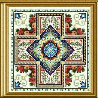 Mini Mandala Mystery 03 - Cross Stitch Pattern