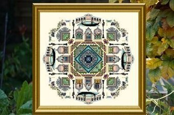 Venice Mandala, The - Cross Stitch Pattern