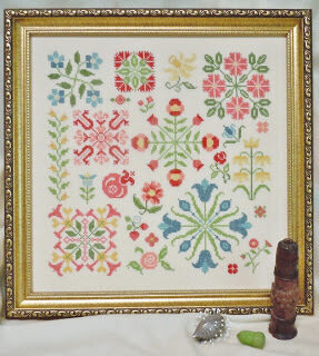 Spot On Flowers - Cross Stitch Pattern