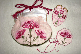Gillyflower Bag and Toys - Cross Stitch Pattern