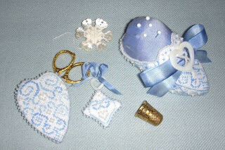 Snow Queen's Slipper & Accessories - Cross Stitch Pattern