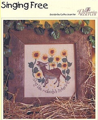 Singing Free - Cross Stitch Pattern