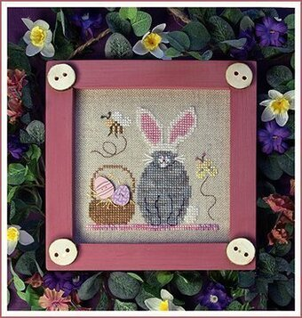 Kitty Bun Bun  - Cross Stitch Pattern