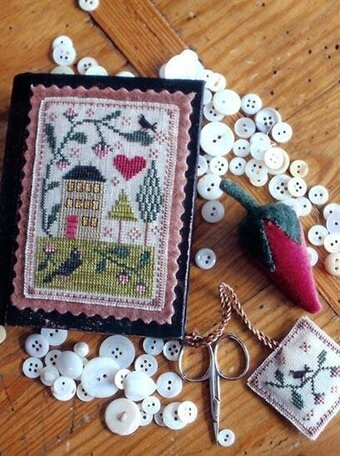 Berry House Stitch Book - Cross Stitch Pattern