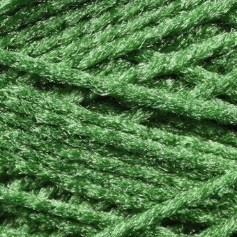 Needloft Craft Yarn 20 Yard Card - Christmas Green