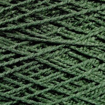 Needloft Craft Yarn 20 Yard Card - Forest Green