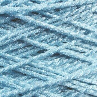 Needloft Craft Yarn 20 Yard Card - Sail Blue