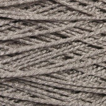 Needloft Craft Yarn 20 Yard Card - Gray