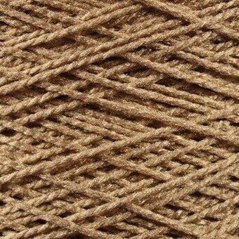Needloft Craft Yarn 20 Yard Card - Camel