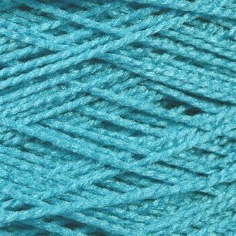 Needloft Craft Yarn 20 Yard Card - Turquoise