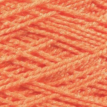 Needloft Craft Yarn 20 Yard Card - Bright Orange