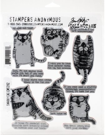 Snarky Cat - Clear Stamp