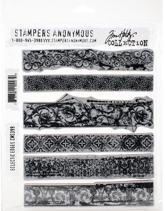 Eclectic Edges - Cling Stamp