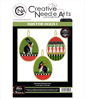 Easter Eggs 1 - Easter Ornaments - Counted Cross Stitch Kit