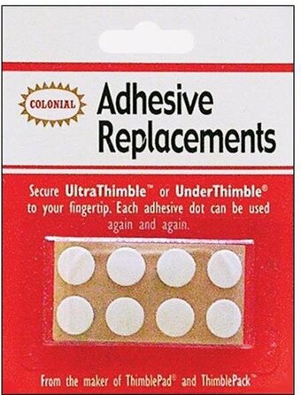 Under Thimble Adhesive Replacements - 8 per package