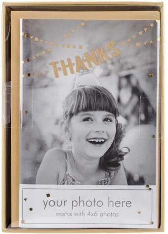Thanks Banner Photo Overlay Cards and Envelopes