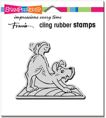 Downward Dog - Cling Rubber Stamp