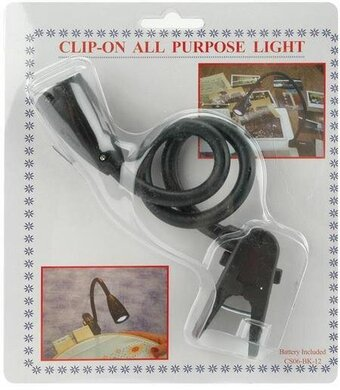 Clip-On All Purpose Craft Light