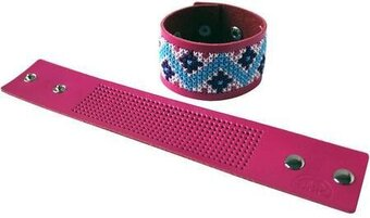 Stitchable Cuff - Fuschia - Cross Stitch Kit