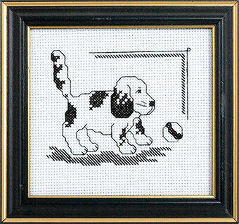 Let's Play - Cross Stitch Kit