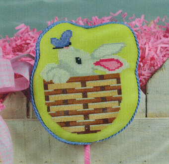 Bunny Basket - Cross Stitch Pattern