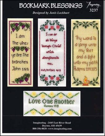 Bookmark Blessings - Cross Stitch Pattern