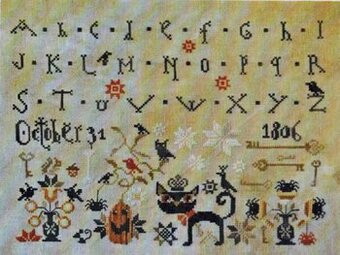 October 31 - Cross Stitch Pattern
