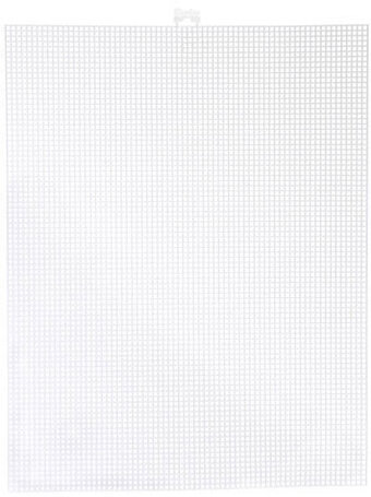 "Plastic Canvas 7 Count White 10""x13"""
