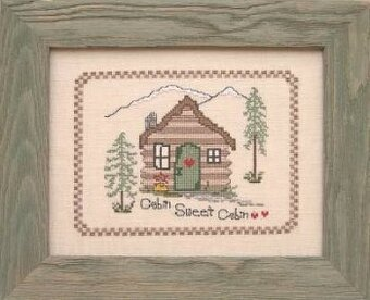Cabin Sweet Cabin - Cross Stitch Pattern