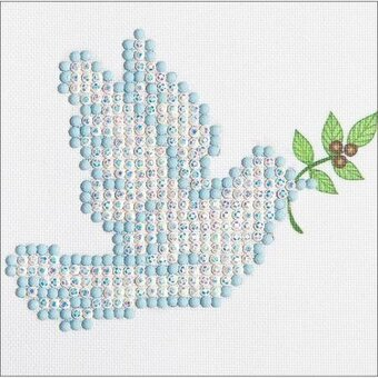 Dove Of Peace - Diamond Embroidery Facet Art Kit
