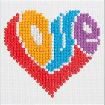 Love - Diamond Embroidery Facet Art Kit