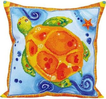 Turtle Journey Pillow - Diamond Dotz Facet Art Kit
