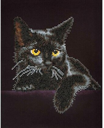 Midnight Cat - Diamond Dotz Facet Art Kit