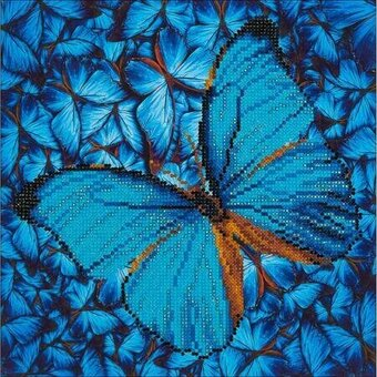 Flutter By Blue - Diamond Embroidery Facet Art Kit