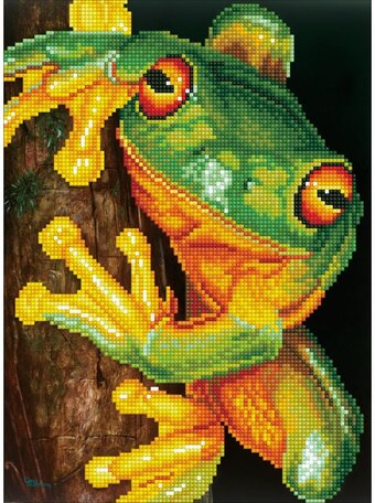 Green Tree Frog - Diamond Dotz Facet Art Kit