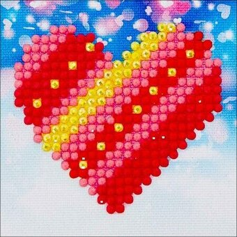 Patchwork Heart - Diamond Dotz Facet Art Kit