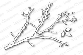 Bare Branch - Impression Obsession Craft Die